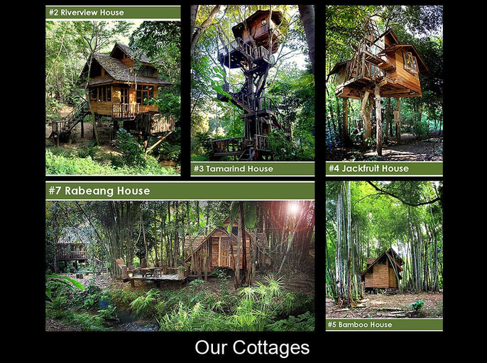 Rabeang Pasak Tree House Resort, Doi Saket