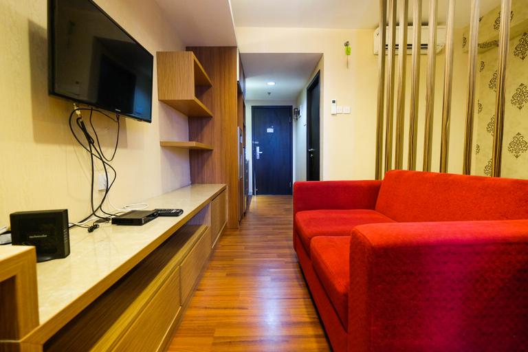 Comfy Studio Apartment at Tamansari The Hive By Travelio, East Jakarta