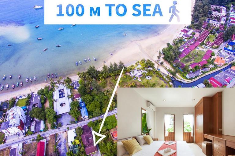 50 step to sea, restaurants, supermarket - Villa Behind The Sea - - 71397401 (Pet-friendly), Pulau Phuket