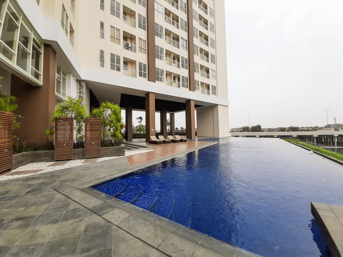 Great Studio at Silk Town Apartment Tower Alexandria By Travelio, Tangerang