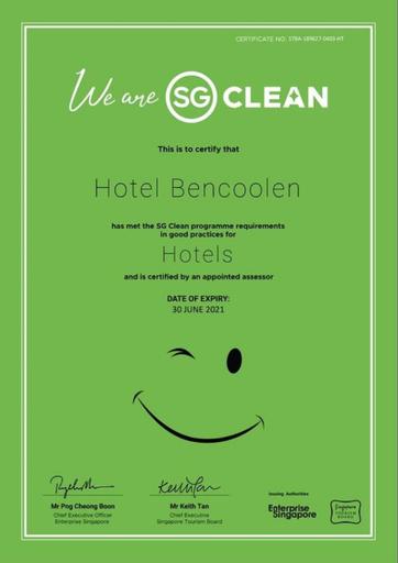 Hotel Bencoolen @ Bencoolen Street, Rochor