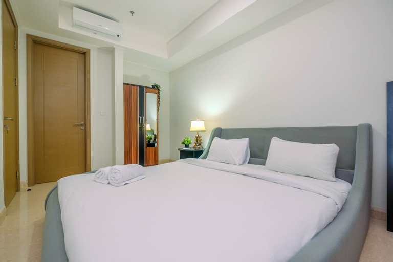 Highest Value 1BR Apartment at Gold Coast PIK By Travelio, North Jakarta