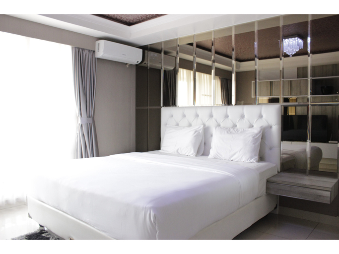 Modern & Deluxe Studio Apartment at Tamansari Tera Residence By Travelio, Bandung