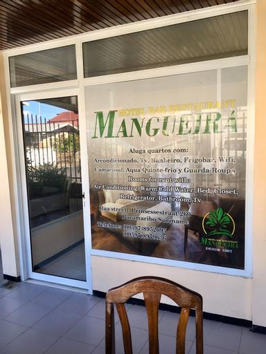 Guesthouse Mangueira, Blauwgrond