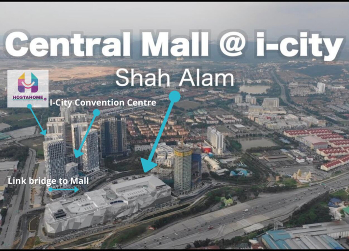 HostaHome Suites at I-City, Central Mall, Kuala Lumpur