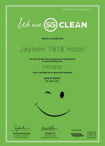 Jayleen 1918 Hotel, Singapura