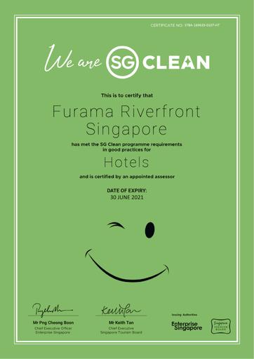 Furama RiverFront, Singapore River