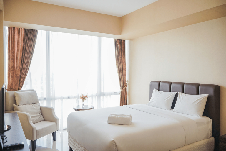 Cozy with Elegant Living 2BR Apartment at U Residence By Travelio, Tangerang