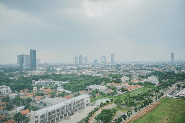 Great Studio at Silk Town Apartment Tower Alexandria By Travelio, Tangerang