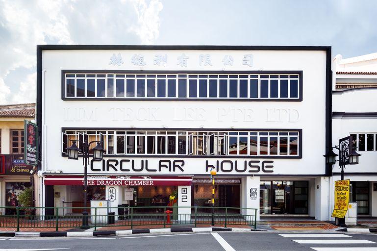 Circular House, Singapore River