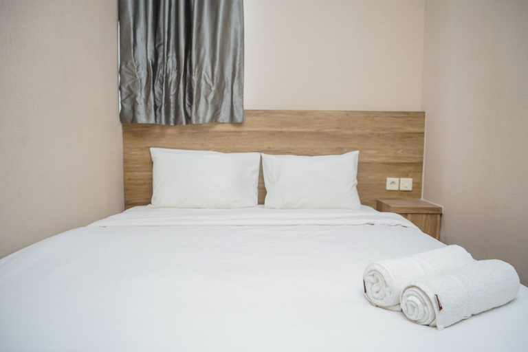 New Furnished with City View 1BR @ Akasa Apartment By Travelio, Tangerang Selatan