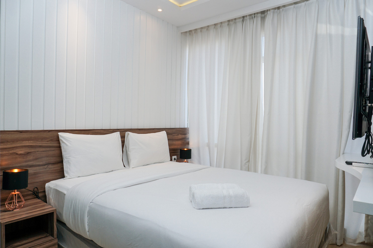 Tranquil 2BR at Menteng Park Apartment By Travelio, Jakarta Pusat