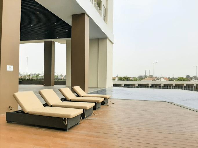 Comfortable 1BR Apartment at Silktown Alexandria By Travelio, Tangerang