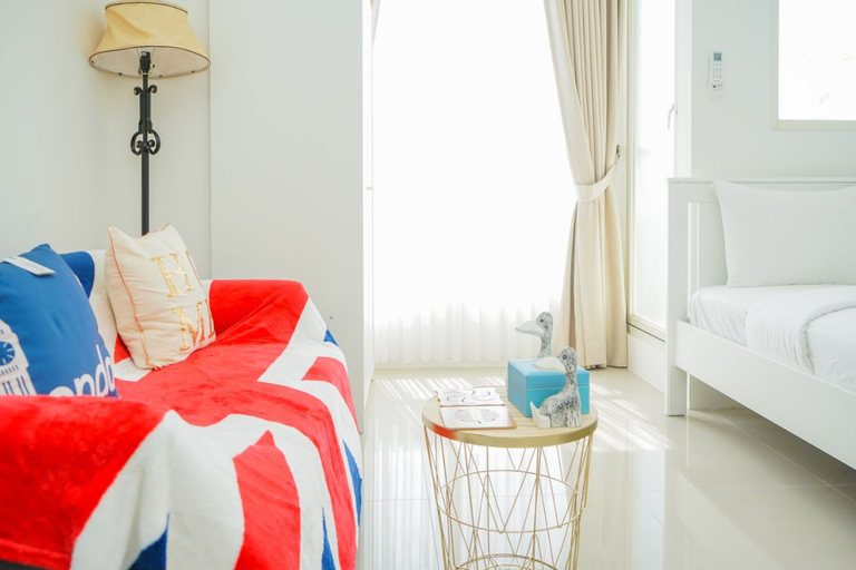 London Style Studio Cozy Silktown Apartment near Ikea in Alam Sutera By Travelio, Tangerang Selatan