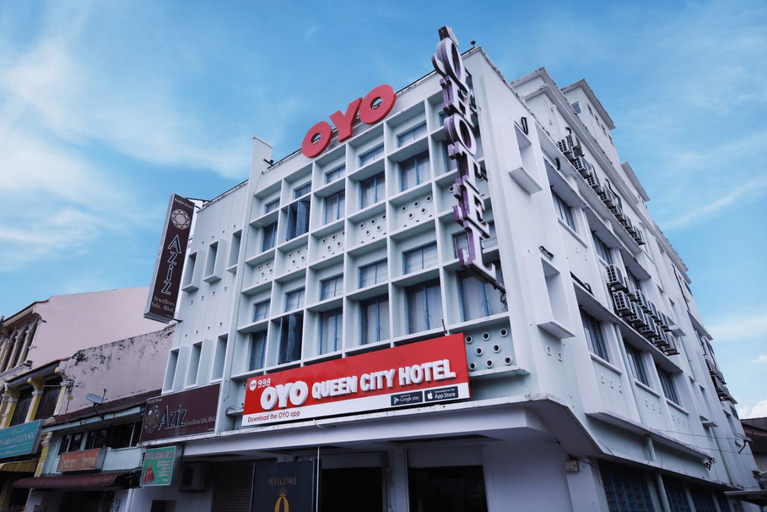OYO 998 Queen City Hotel, Pulau Penang
