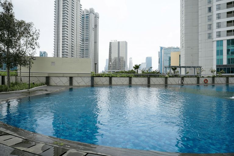 Amazing 1BR Apartment at The Wave @ Rasuna Epicentrum By Travelio, Jakarta Selatan