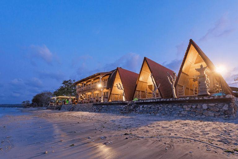 Road Beach Sun Sun Nusa Penida, Klungkung