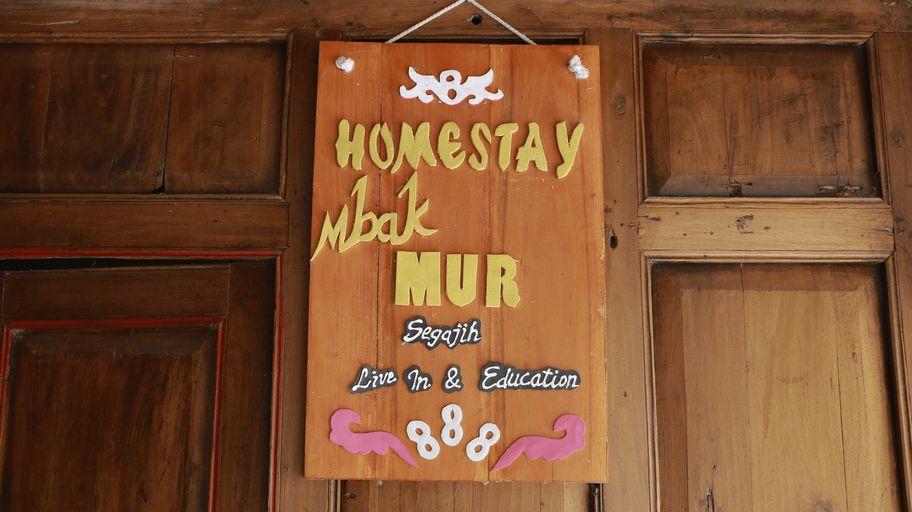 Mur Homestay, Kulon Progo