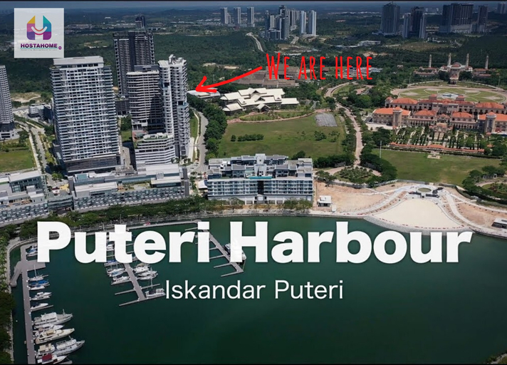 HostaHome Suites at Encorp Marina at Puteri Harbour, Johor Bahru