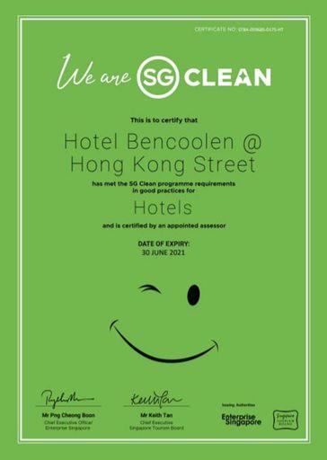 Hotel Bencoolen @ Hong Kong Street, Singapore River