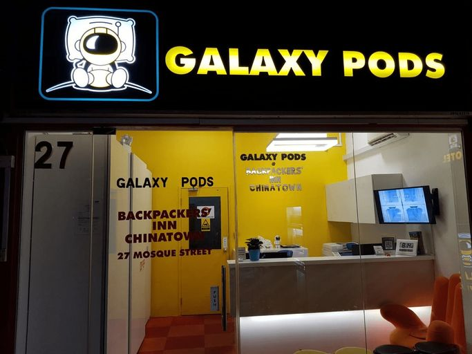 Galaxy Pods at Chinatown, Outram