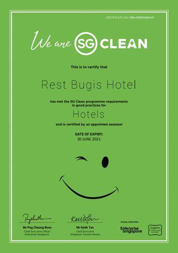 Rest Bugis Hotel (SG Clean), Rochor