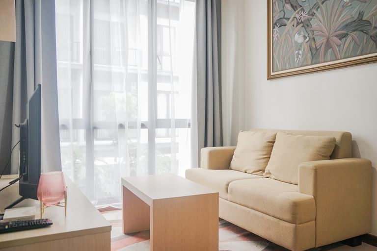 Warm and Cozy 1BR at Asatti Apartment Vanya Park By Travelio, Tangerang