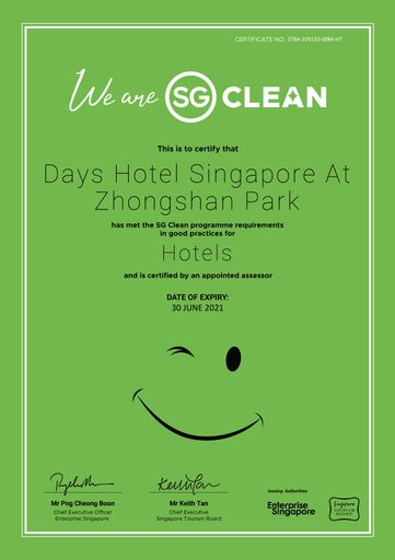 Days Hotel by Wyndham Singapore at Zhongshan Park, Novena