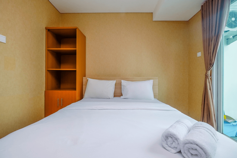 Exclusive Studio Apartment at Woodland Park Residence By Travelio, South Jakarta