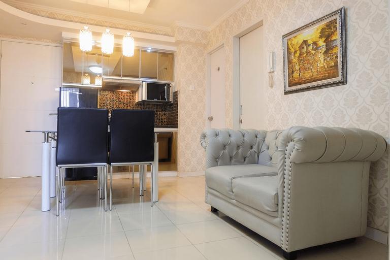 Best Contremporer Modern 3BR Bassura City Apartment By Travelio, East Jakarta