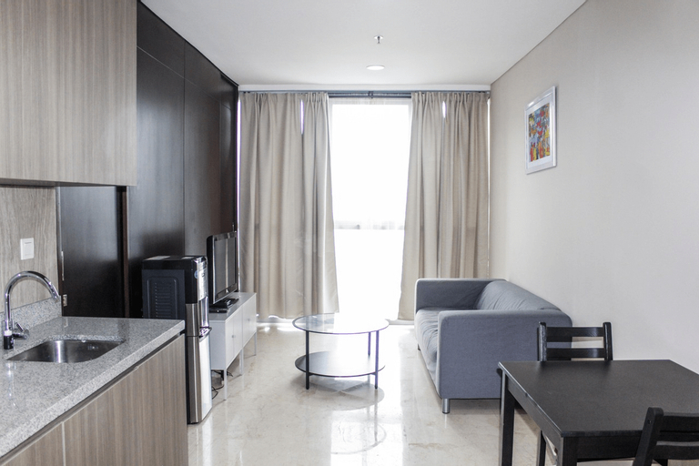 Spacious and Comfortable 1BR at Ciputra World 2 Apartment By Travelio, Jakarta Selatan