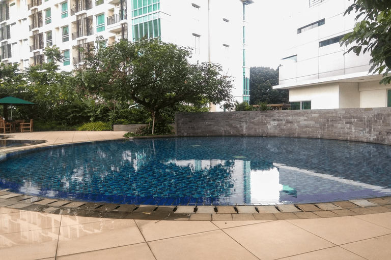 New Furnished and Comfortable Studio Woodland Park Apartment By Travelio, South Jakarta