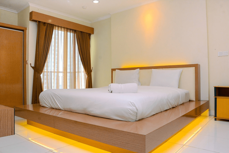 Pleasant Studio Apartment at City Home MOI By Travelio, North Jakarta