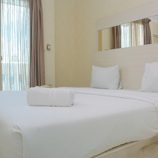 Minimalist and Cozy 1BR Apartment at The Boulevard By Travelio, Jakarta Pusat