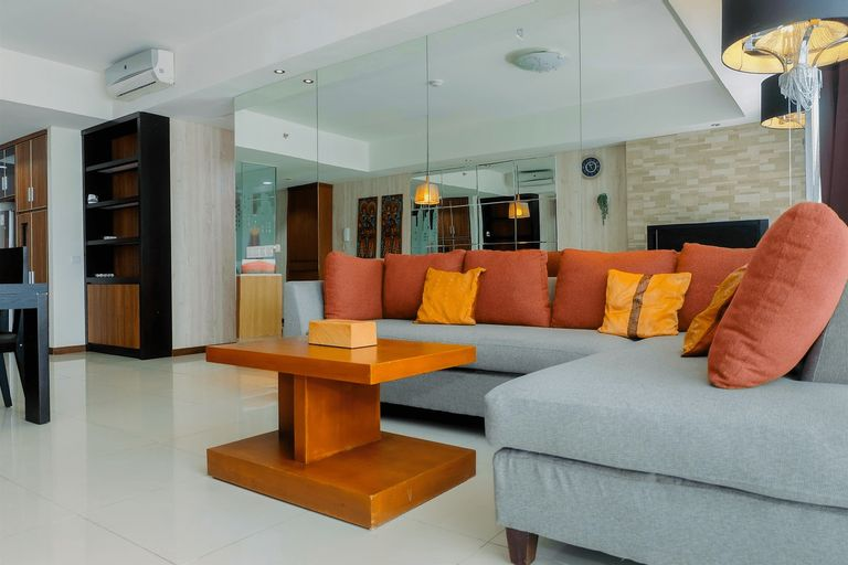 Premium and Spacious 3BR Apartment at Kemang Village By Travelio, Jakarta Selatan