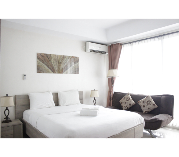 Pleasant Studio Room at Beverly Dago Apartment near ITB By Travelio, Bandung