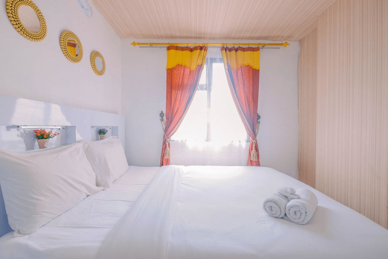 Highest Value 2BR at Lagoon Resort Apartment By Travelio, Bekasi
