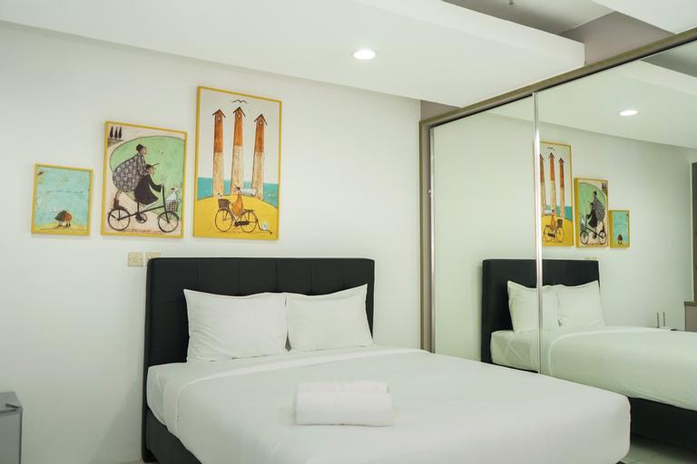 Spacious Studio Room Menteng Square Apartment By Travelio, Jakarta Pusat