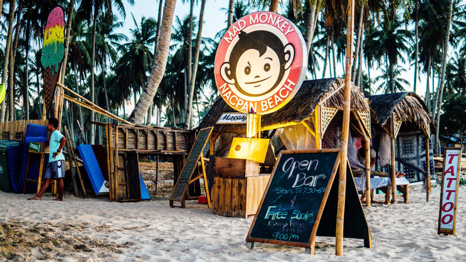 Mad Monkey Hostel Nacpan Beach - Adults Only, El Nido