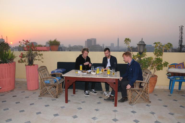 Osiris Hotel, 'Abdin