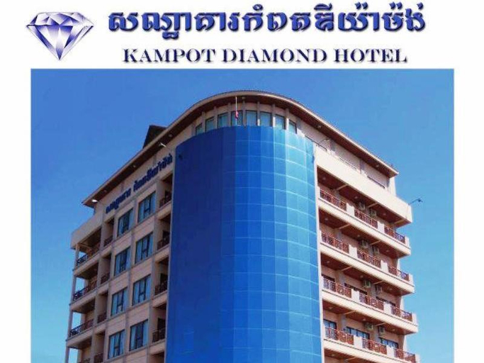 Kampot Diamond Hotel, Kampong Bay