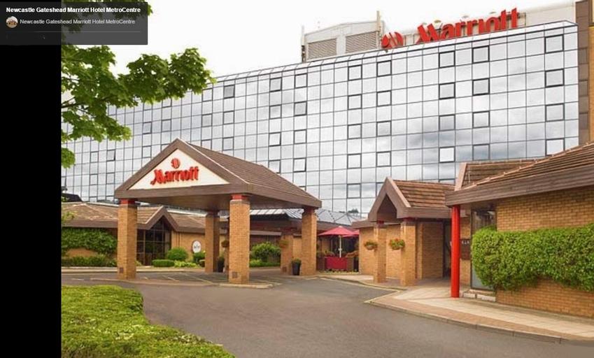 Marriott Hotel Newcastle MetroCentre, Newcastle upon Tyne