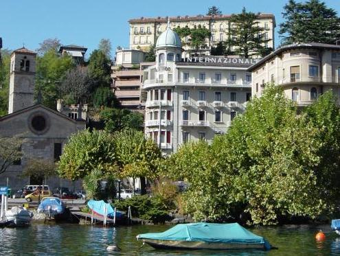 International au Lac Historic Lakeside Hotel, Lugano