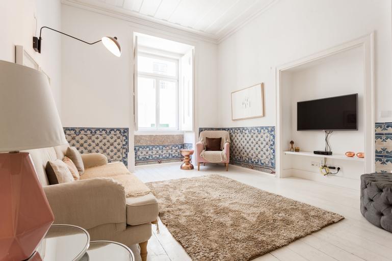 Baixa Tile Blue Two-Bedroom Apartment - by LU Holidays, Lisboa