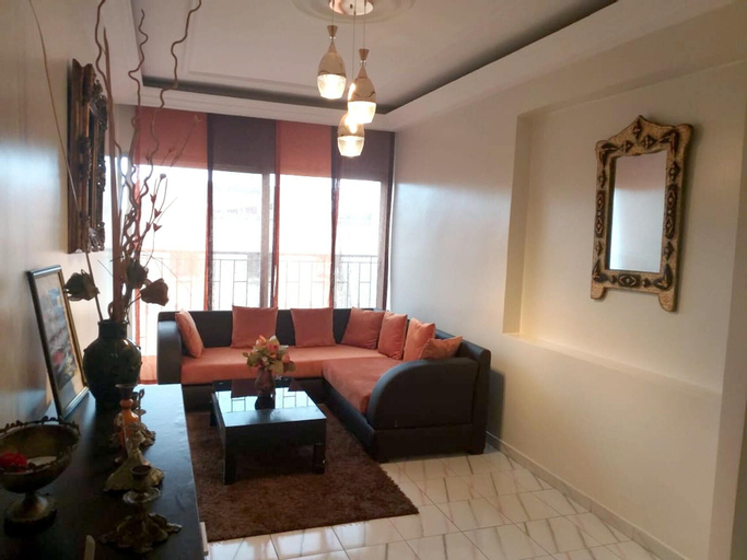 Apartment With 2 Bedrooms in Casablanca, With Wonderful sea View, Terrace and Wifi - 200 m From the Beach, Casablanca