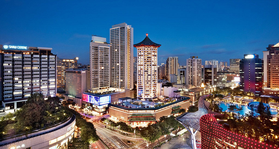Singapore Marriott Tang Plaza Hotel, Orchard