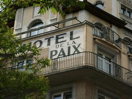 Hotel de la Paix, Luzern
