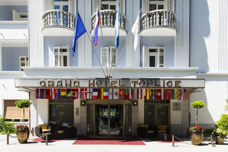 Grand Hotel Toplice, Bled