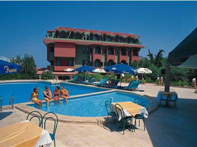 Atan Park Hotel, Merkez