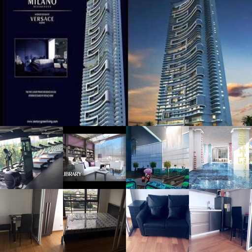 1 bedroom Milano Residences, Makati City